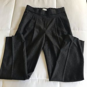 New Aritzia Babaton Charcoal Wool Pants size 2